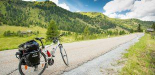 Cu bicicleta pe langa Drau si Mur, Austria