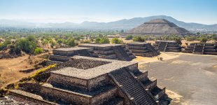 Teotihuacan, Mexic