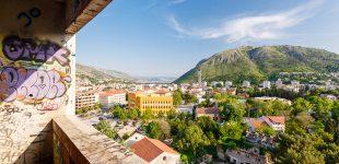 """Sniper tower"", Mostar, BiH"