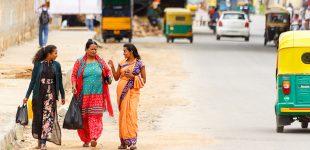 Strazile din Bangalore, India