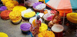 Piețe din Bangalore, India