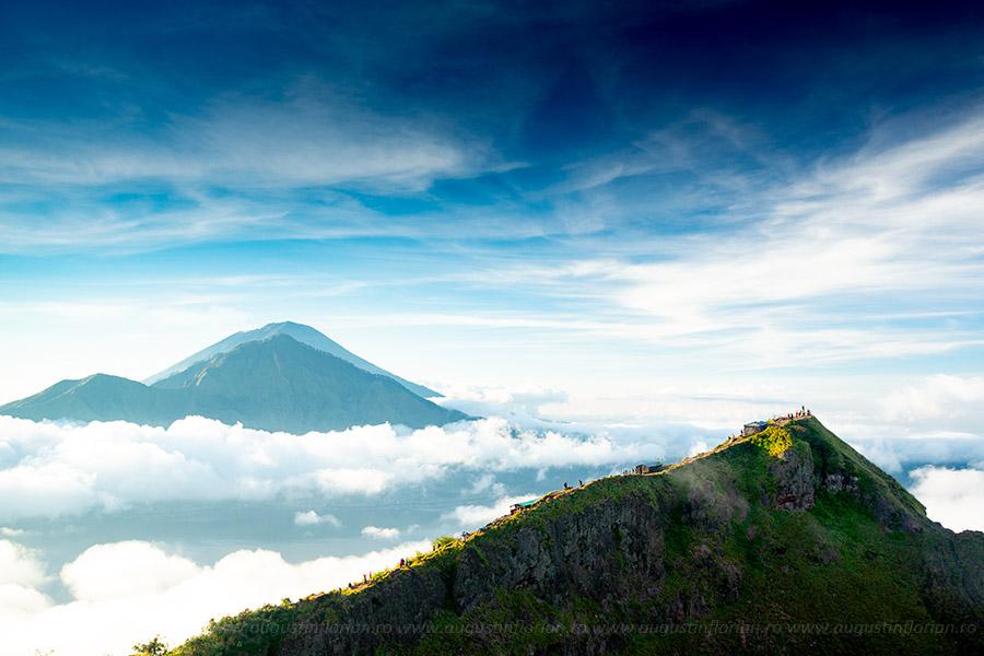 Vulcani la răsărit în Bali